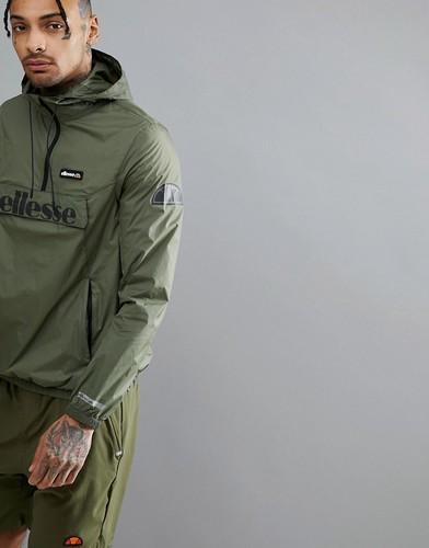 Зеленая спортивная куртка ellesse - Зеленый