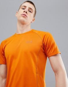 Оранжевая футболка Jack Wolfskin Hydropore XT - Оранжевый