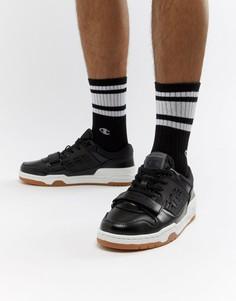 Черные низкие кроссовки Champion 3 On 3 - Черный