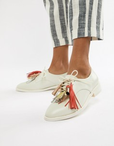 Туфли с кисточками Paul & Joe Sister - Белый