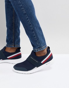 Темно-синие кроссовки в полоску Tommy Hilfiger Icon - Темно-синий