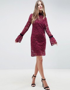 Кружевное платье Hope & Ivy - Красный