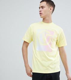 Желтая oversize-футболка с принтом на спине Vans эксклюзивно для ASOS - Желтый