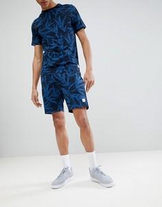 Трикотажные шорты с принтом Only & Sons - Темно-синий