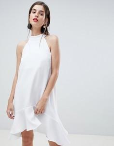 Свободное платье River Island - Кремовый