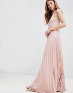 Платье макси Glamorous - Розовый