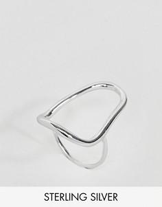 Серебряное кольцо Weekday - Серебряный
