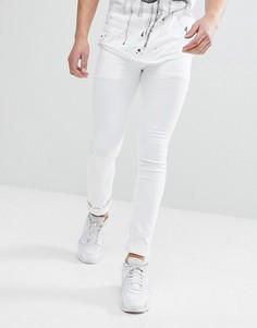 Белые джинсы скинни Religion - Белый