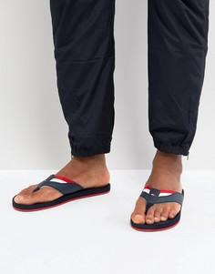 Темно-синие пляжные шлепанцы Tommy Hilfiger - Темно-синий