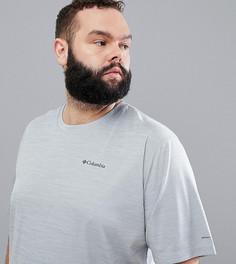 Серая футболка с логотипом Columbia PLUS Zero Rules - Серый