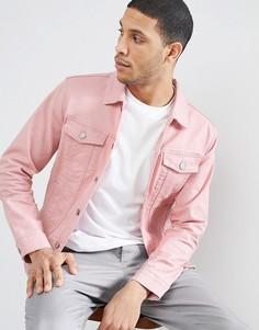 Розовая джинсовая куртка Jack & Jones Originals - Розовый
