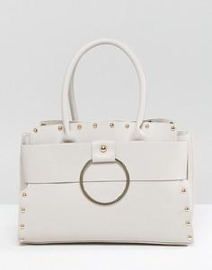 Серая сумка-тоут Yoki Fashion - Серый