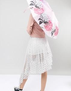 Зонт Ted Baker Palace Gardens - Розовый