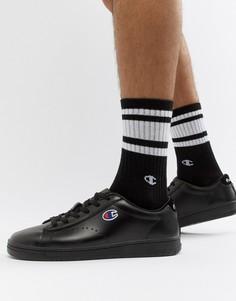Черные низкие кроссовки Champion 919 - Черный