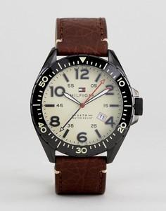 Коричневые часы Tommy Hilfiger Declan - Коричневый