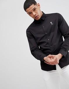 Черная рубашка скинни Religion - Черный