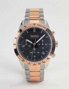 Наручные часы с хронографом BOSS 1513584 Talent - Серебряный