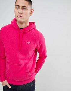Худи ярко-розового цвета Hollister - Розовый