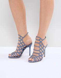 Босоножки на каблуке Steve Madden - Синий