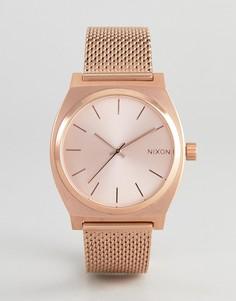 Часы Nixon Time Teller Luxe - Золотой