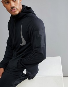 Худи черного цвета из флиса Nike Training Project XAA4656-010 - Черный