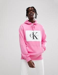 Худи с логотипом Calvin Klein Jeans - Розовый