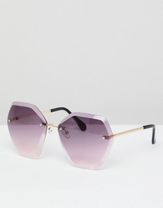 Солнцезащитные очки с двойными линзами 7X - Фиолетовый
