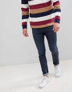 Синие джинсы зауженного кроя Calvin Klein - Синий