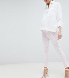 Розовые джинсы скинни с завышенной талией ASOS DESIGN Maternity Ridley - Мульти