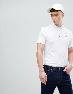 Белая футболка-поло с логотипом Hackett Mr. Classic - Белый