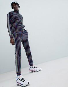 Джоггеры в разноцветную полоску Jaded London - Мульти