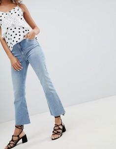 Укороченные расклешенные джинсы Miss Selfridge - Синий