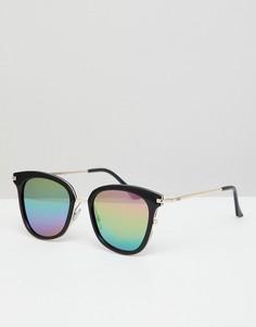 Солнцезащитные очки с разноцветными стеклами Vans - Черный