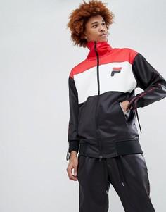 Спортивная куртка с отделкой D-Antidote x Fila - Черный