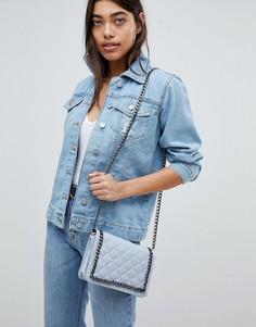 Джинсовая оversize-куртка Boohoo - Синий