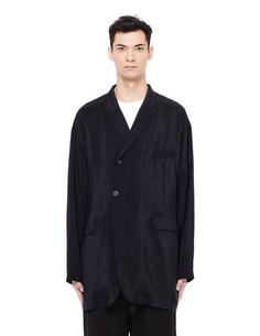Двубортный пиджак в полоску THE Viridi Anne