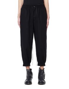 Укороченные хлопковые брюки THE Viridi Anne