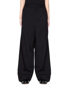 Широкие черные брюки Yang LI