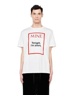 Хлопковая футболка с принтом The Soloist