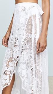 Miguelina Valencia Wrap Skirt