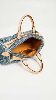 What Goes Around Comes Around Louis Vuitton Denim AB Neospeedy Bag 47494e6ac74bc