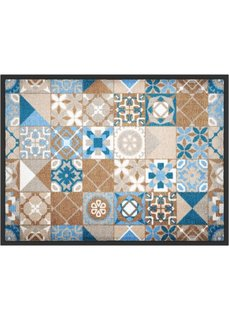 Коврик для двери Касабланка (синий) Bonprix