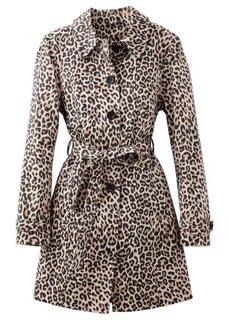 Плащ с леопардовым принтом (леопардовый коричневый) Bonprix
