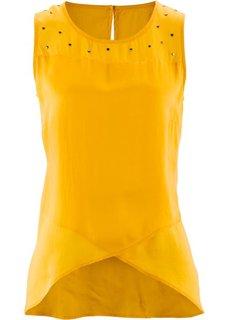 Топ (шафранно-желтый) Bonprix