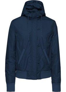 Куртка-блузон на легкой подкладке (темно-синий) Bonprix