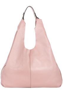 Кожаная сумка-хобо La Reine Blanche