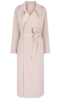 Розовый плащ с поясом La Reine Blanche