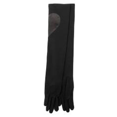 Перчатки AGNELLE COUDIERE/HEART черный