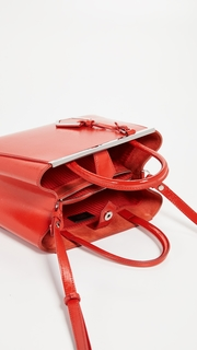 What Goes Around Comes Around Fendi Saffiano 2Jours Petite Bag