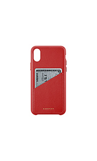 Leather card iphone x case - Casetify